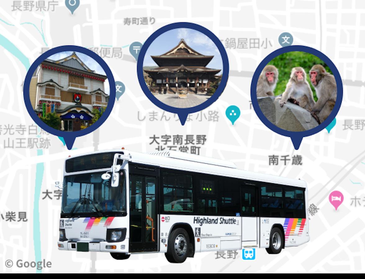周遊バス一日乗車券