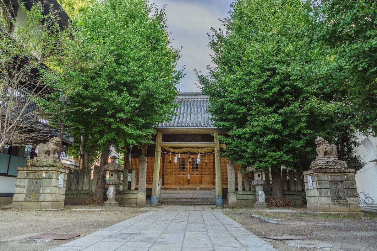 秋葉神社・四條霊社