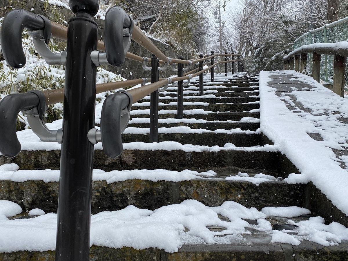 城山の階段小路